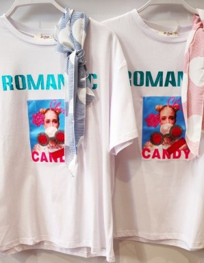 Camiseta funny - Romanic Candy